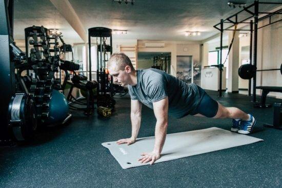 Pompki - rozpoczęcie ćwiczenia